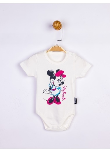 Minnie Mouse  Bebek Body 17201 Ekru